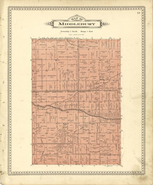 Illustrated atlas of Shiawassee County, Michigan : compiled and published from recent surveys, official records and personal examinations : including brief biographical sketches of enterprising citizens.