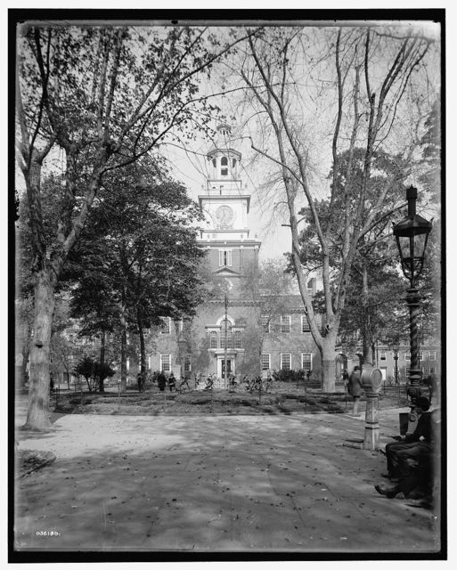 [Independence Hall from Independence Square, Philadelphia, Pa.]