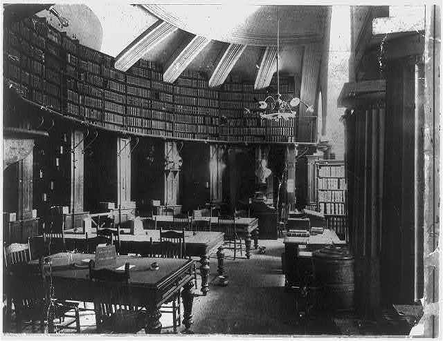 [Law Library of the Library of Congress in the U.S. Capitol, Washington, D.C.]
