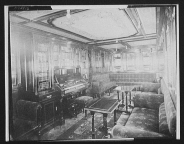[Lounge in ocean liner or steamship]