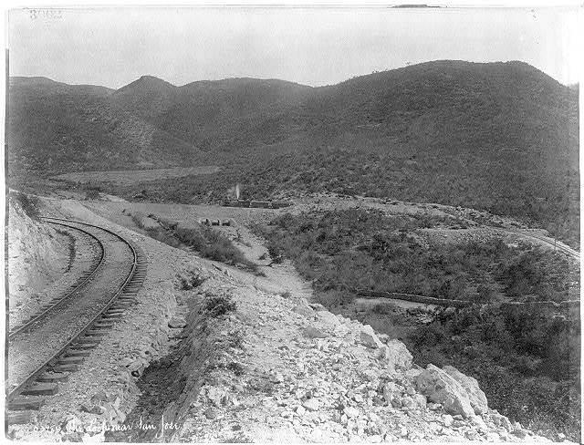 [Mexico - Railroad scene: The Look near San Jose]
