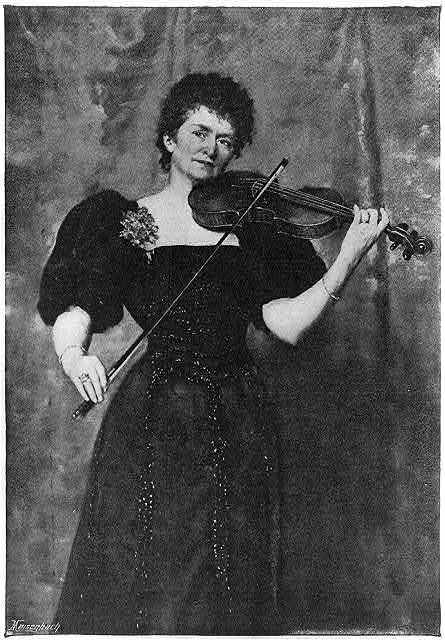 Mme. Wilhelmine (Norman-Neruda), Lady [Charles] Halle, 1834-