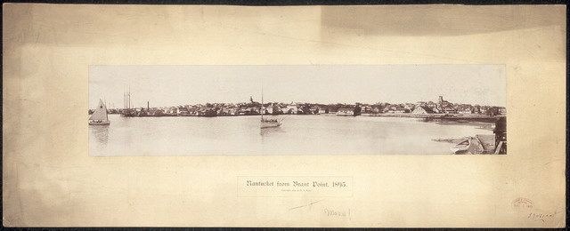 Nantucket from Brant Point, 1895