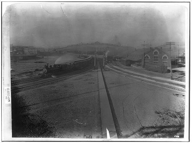 Neck of Y: railroad juction near Pittsburgh, Pa., 1895