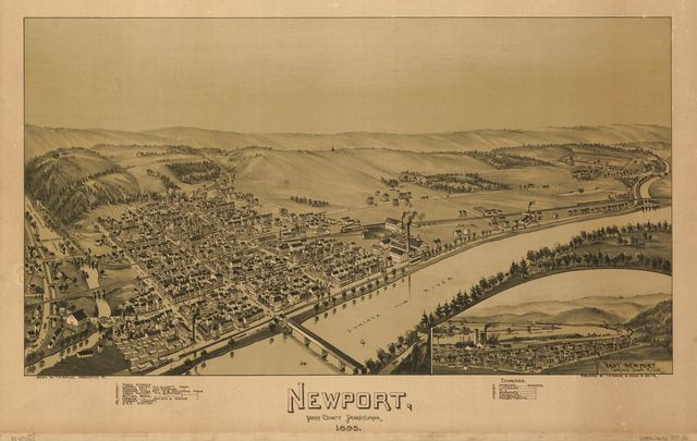 Newport, Perry County, Pennsylvania, 1895 /
