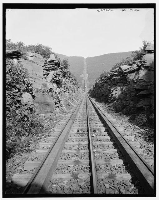 [Otis Elevating Railway, looking up, Catskill Mts.,N.Y.]