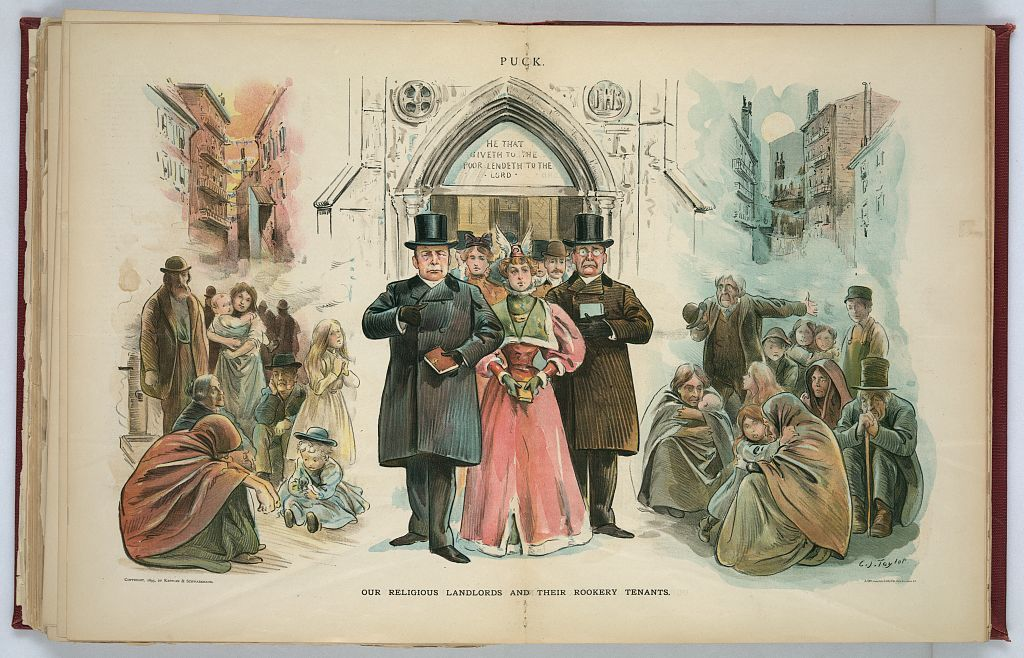 Our religious landlords and their rookery tenants / C.J. Taylor.