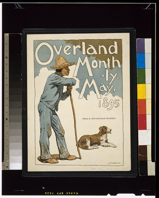 Overland Monthly. May, 1895 / L. Maynard Dixon.