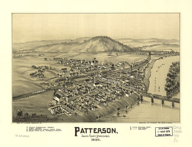 Patterson, Juniata County, Pennsylvania.