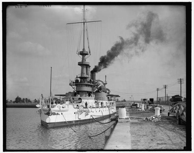 [Philadelphia, Pa., U.S.S. Indiana, League Island Navy Yard]