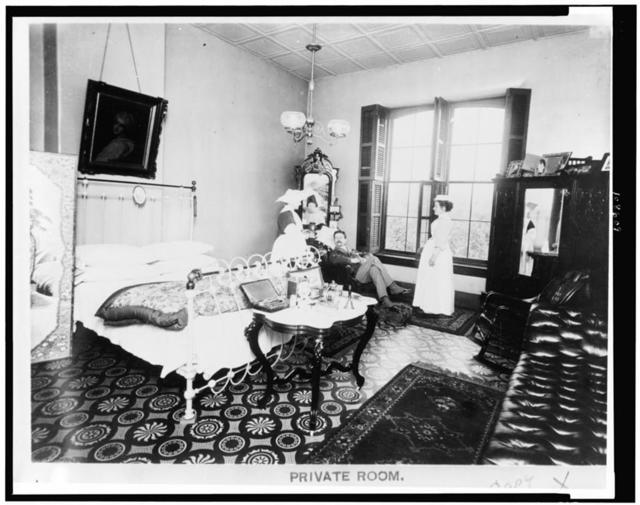 [Private room in Providence Hospital, Washington, D.C.]