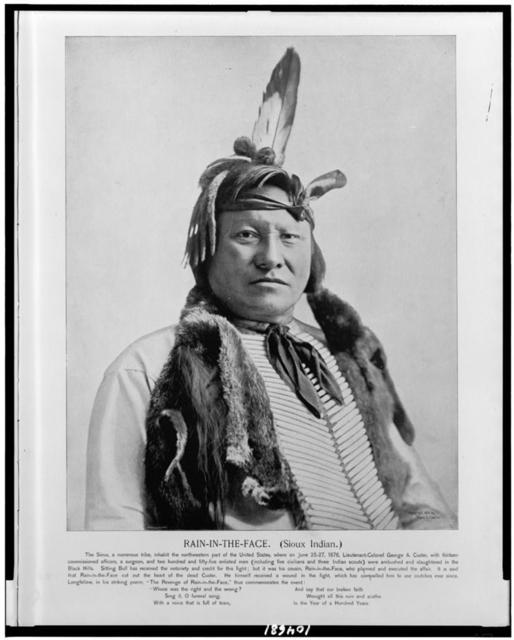 Rain-In-The-Face. (Sioux Indian) / A. Zeese & Co., Chi.