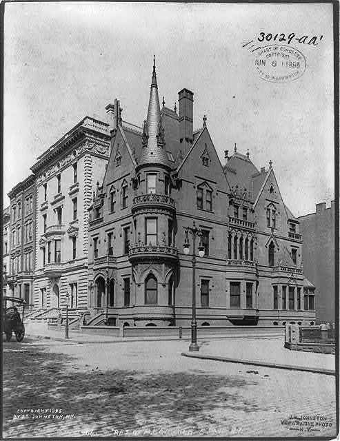 Residence of Mr. Griswald, 5th Ave., New York City