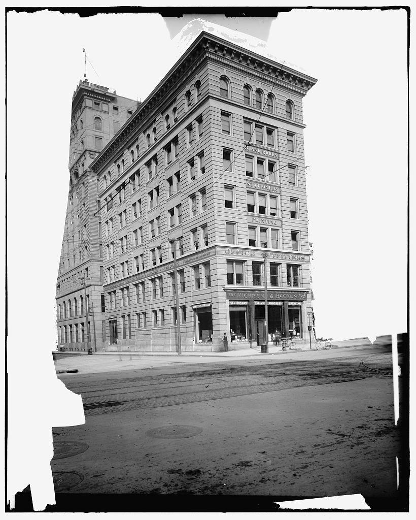 [Richmond & Backus Co. office building, Detroit, Mich.]