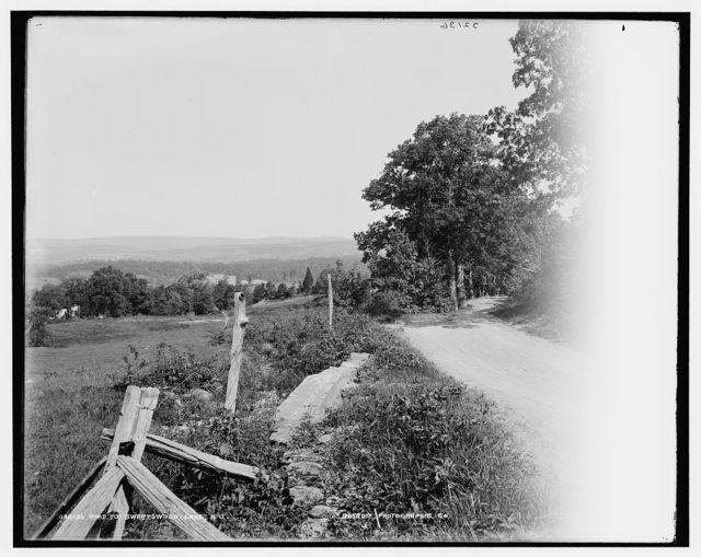 Road to Swartswood Lake, N.J.