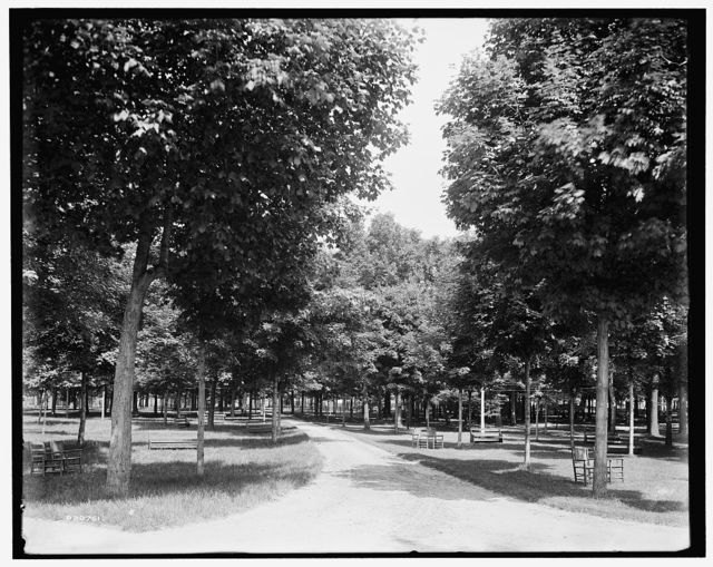 [Sanitarium Park, Alma, Mich.]