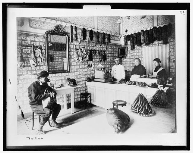 [St. Bon Ossko, butcher shop, Herzegovina]