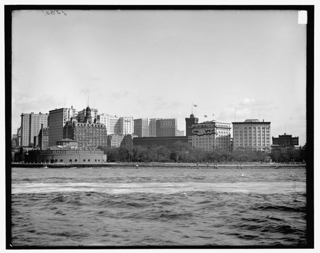 [The Battery and Castle Garden (Castle Clinton), New York, N.Y.]