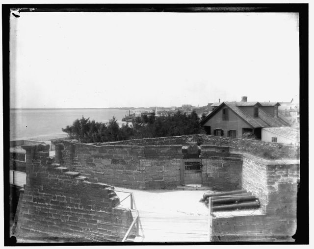 [The Demilune at Fort Marion, St. Augustine, Fla.]