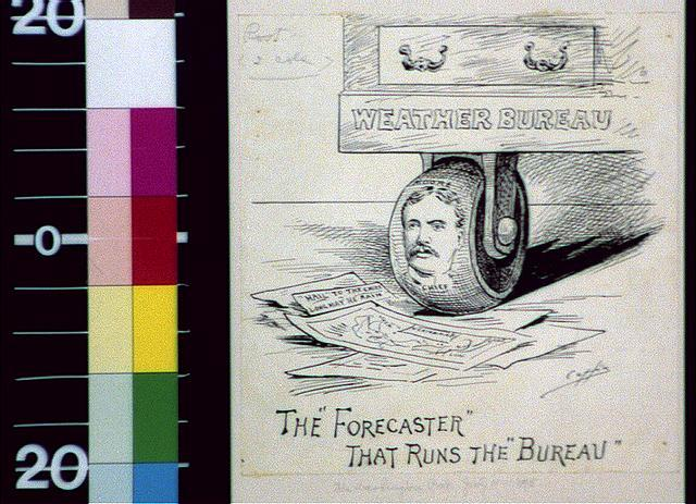 "The ""forecaster"" that runs the bureau"
