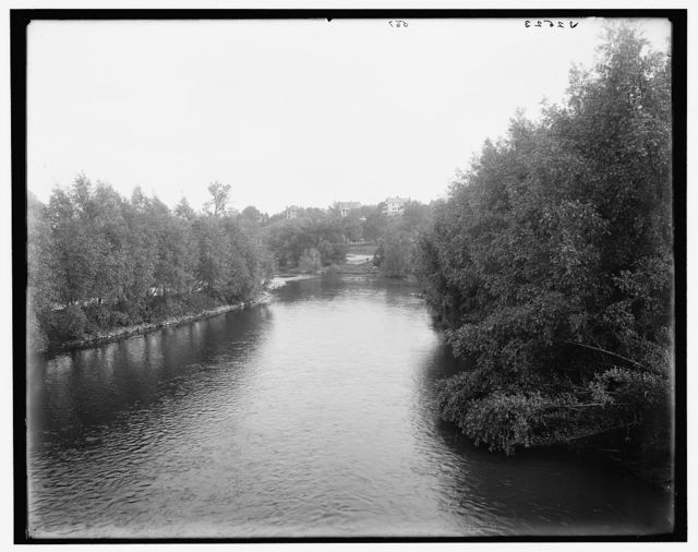 [The Huron River at Ann Arbor, Mich.]