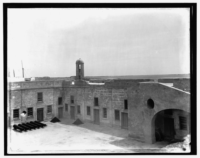 [The Ramparts at Fort Marion, St. Augustine, Fla.]