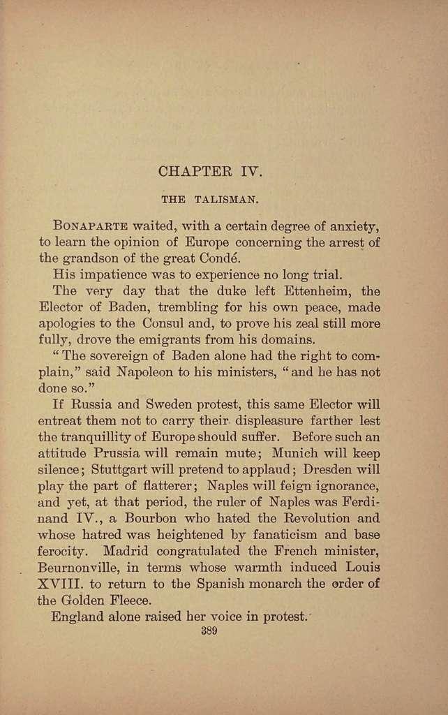 The romance of the sword; a Napoleonic novel,