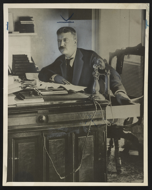 Theodore Roosevelt when he was a New York police commissioner