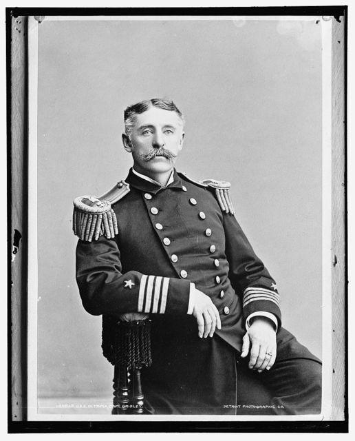 U.S.S. Olympia, Capt. Gridley