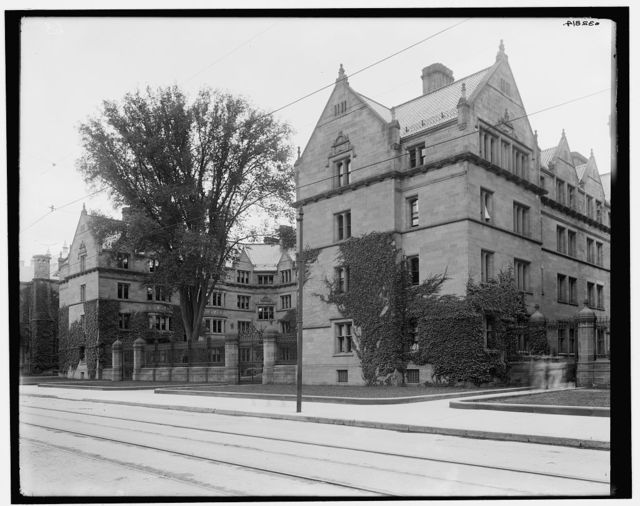 [Vanderbilt Hall, Yale College, Conn.]
