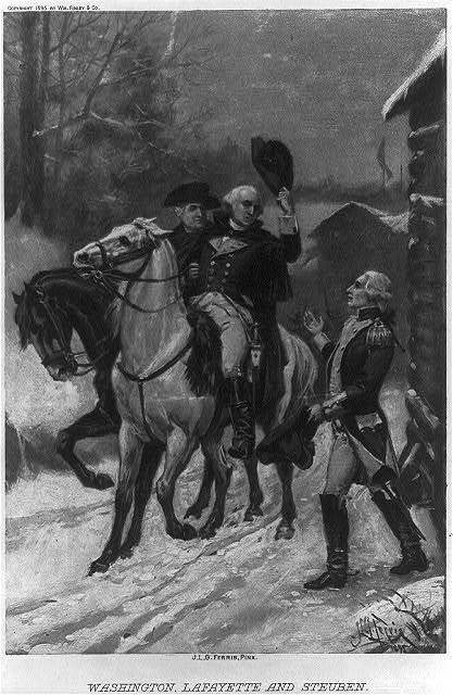 Washington, Lafayette and Steuben