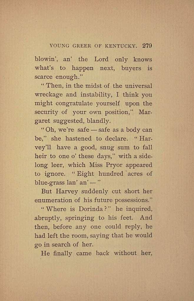 Young Greer of Kentucky; a novel,
