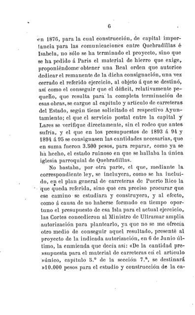 A mis electores del distrito de Quebradillas, Puerto Rico extracto de los trabajos parlamentarios presentados al Congreso de los Diputados durante las legislaturas de 1893 á 94 y de 1894 á 95 /