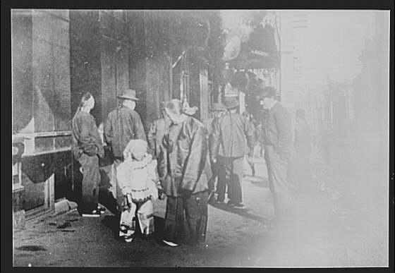 An afternoon airing, Chinatown, San Francisco