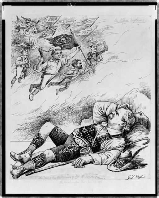 An Alpine nightmare -- the wild and wooly visions of Col. H. Watterson