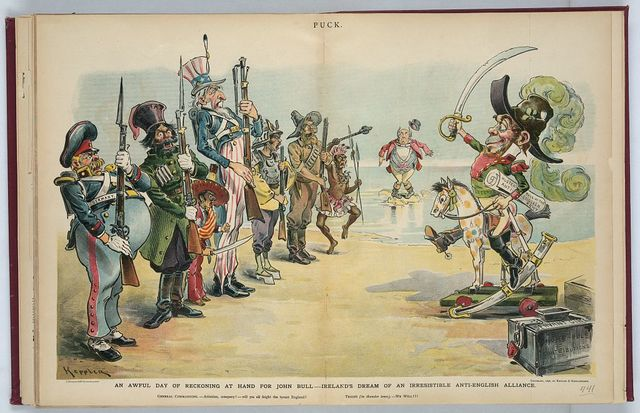 An awful day of reckoning at hand for John Bull - Ireland's dream of an irresistible anti-English alliance / Keppler.