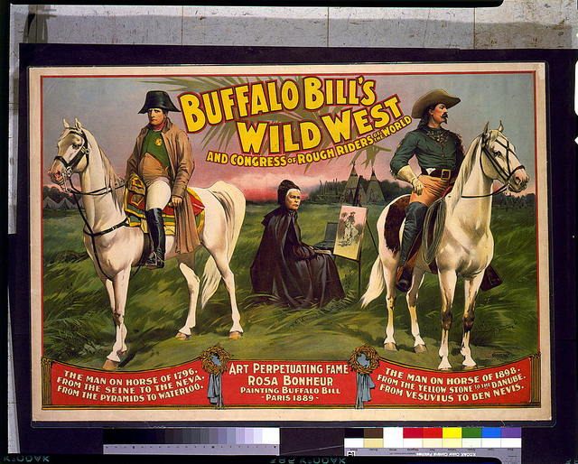 Buffalo Bill's Wild West and Congress of Rough Riders of the World / Courier Litho. Co., Buffalo, N.Y.