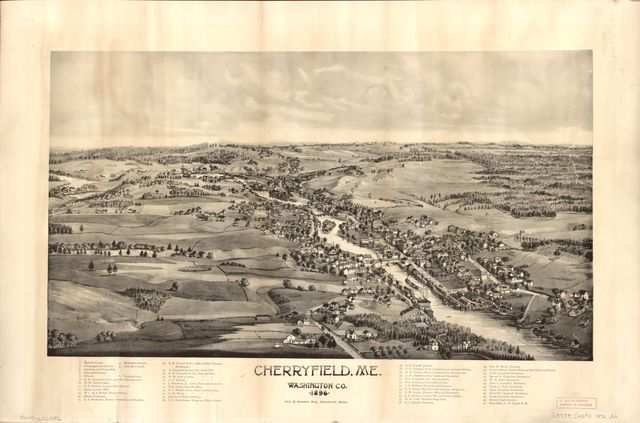Cherryfield, Me., Washington Co., 1896.