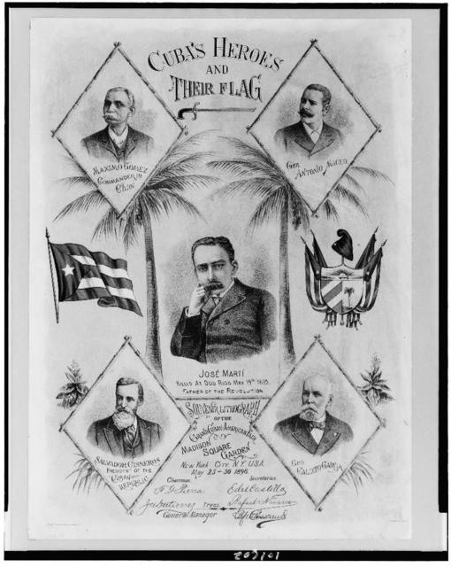 Cuba's heroes and their flag