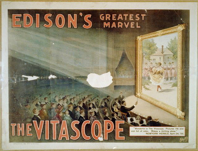 Edison's greatest marvel--The Vitascope - PICRYL Public