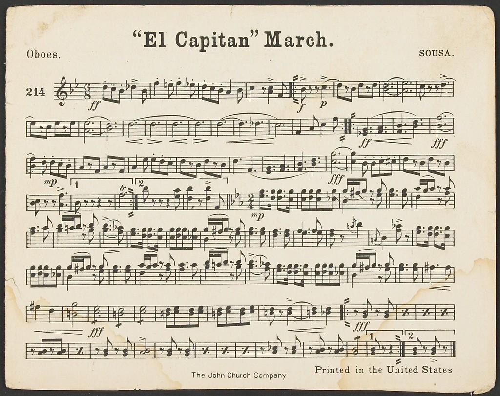 El  Capitan: March