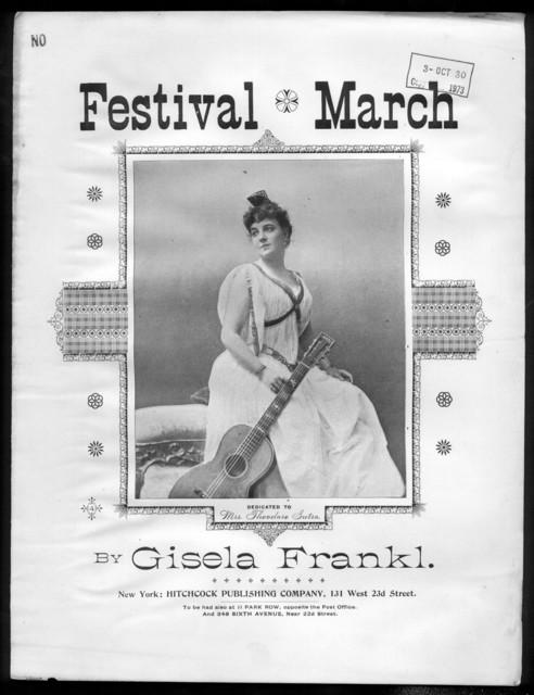 Festival march, op. 63