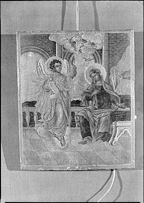 Icon that belonged to Arnold Genthe