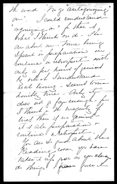 Letter from Mabel Hubbard Bell to Alexander Graham Bell, November 28
