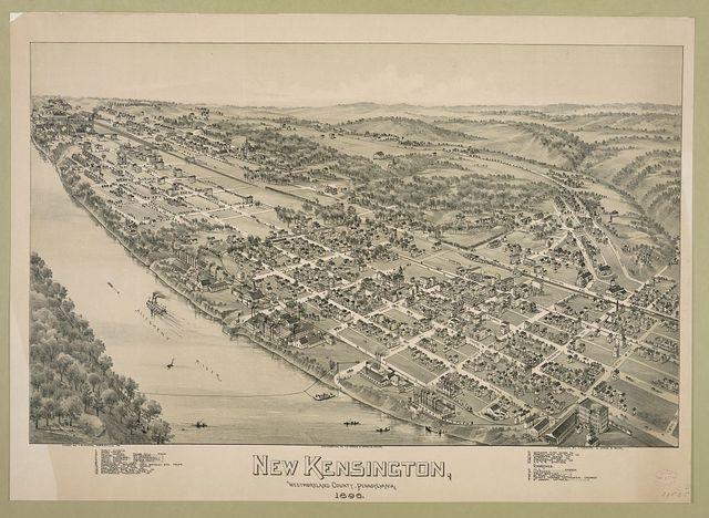 New Kensington, Westmoreland County, Pennsylvania, 1896
