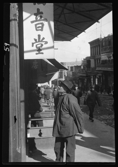 Passers-by, Chinatown, San Francisco