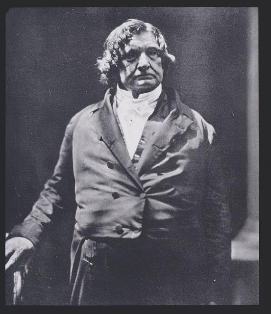 Portrait photograph of Lemuel Shaw, Chief Justice of the Massachusetts Supreme Court