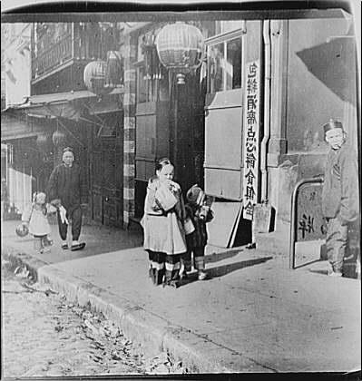 Returning home, Chinatown, San Francisco