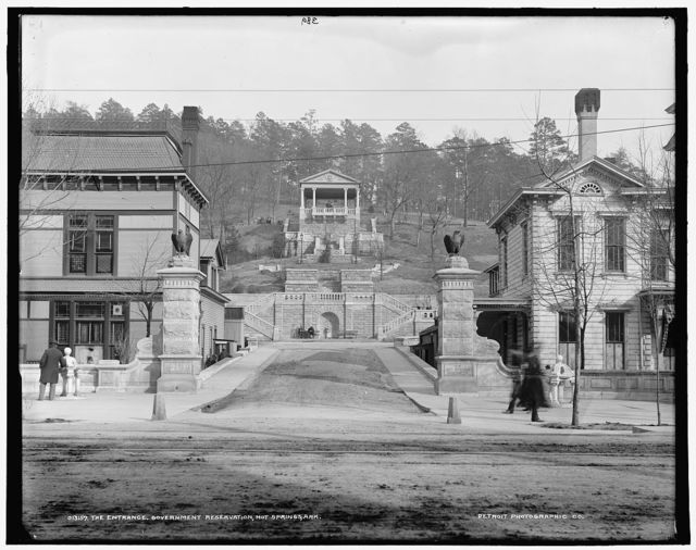 The Entrance, Government Reservation, Hot Springs, Ark.
