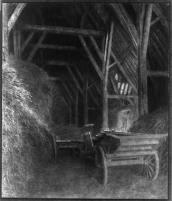 Tithe Barn at Great Cokkeswell [sic]